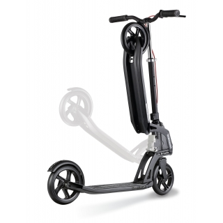 foldable scooter for adults with handbrake - Globber ONE K ACTIVE BR thumbnail 1