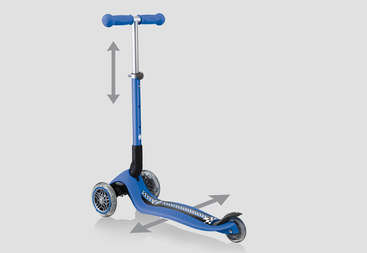 3 wheel toddler scooters for 2 years old - Globber-JUNIOR