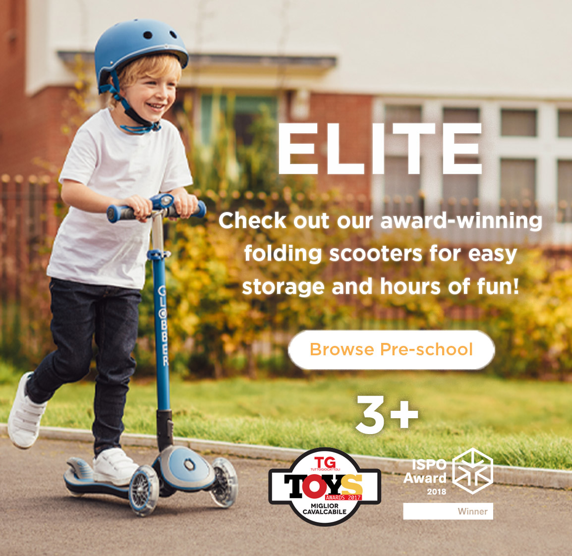 Globber-ELITE-award-winning-foldable-scooters-for-kids