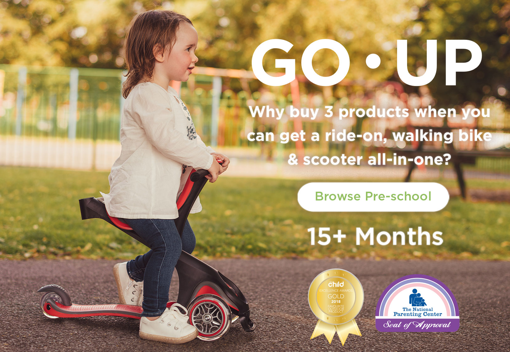 Globber-GO-UP-all-in-one-toddler-scooter-with-seat