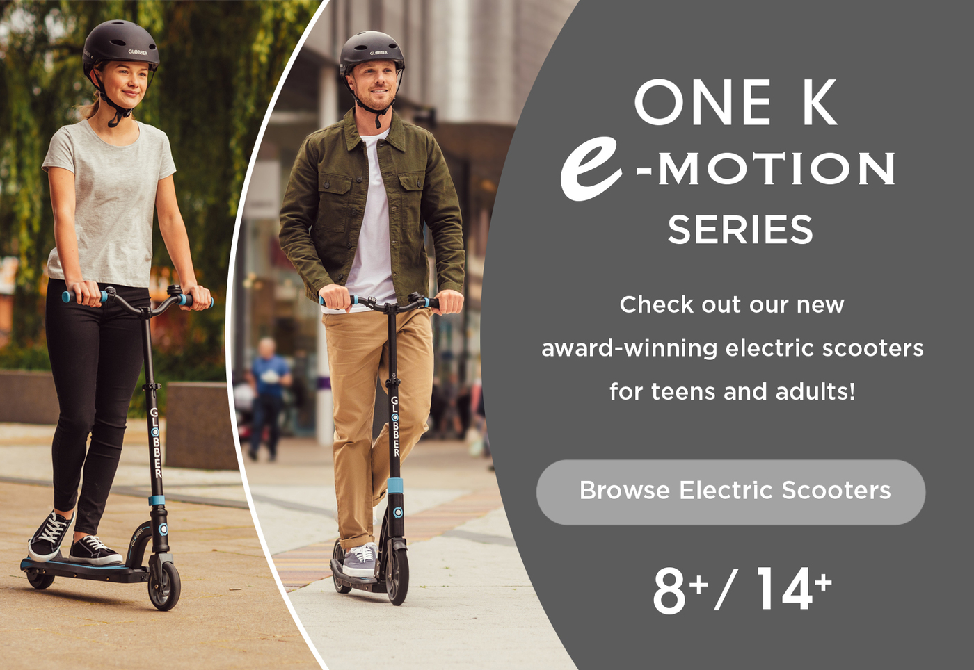 Check out our new award-winning electric scooters for teens and adults!