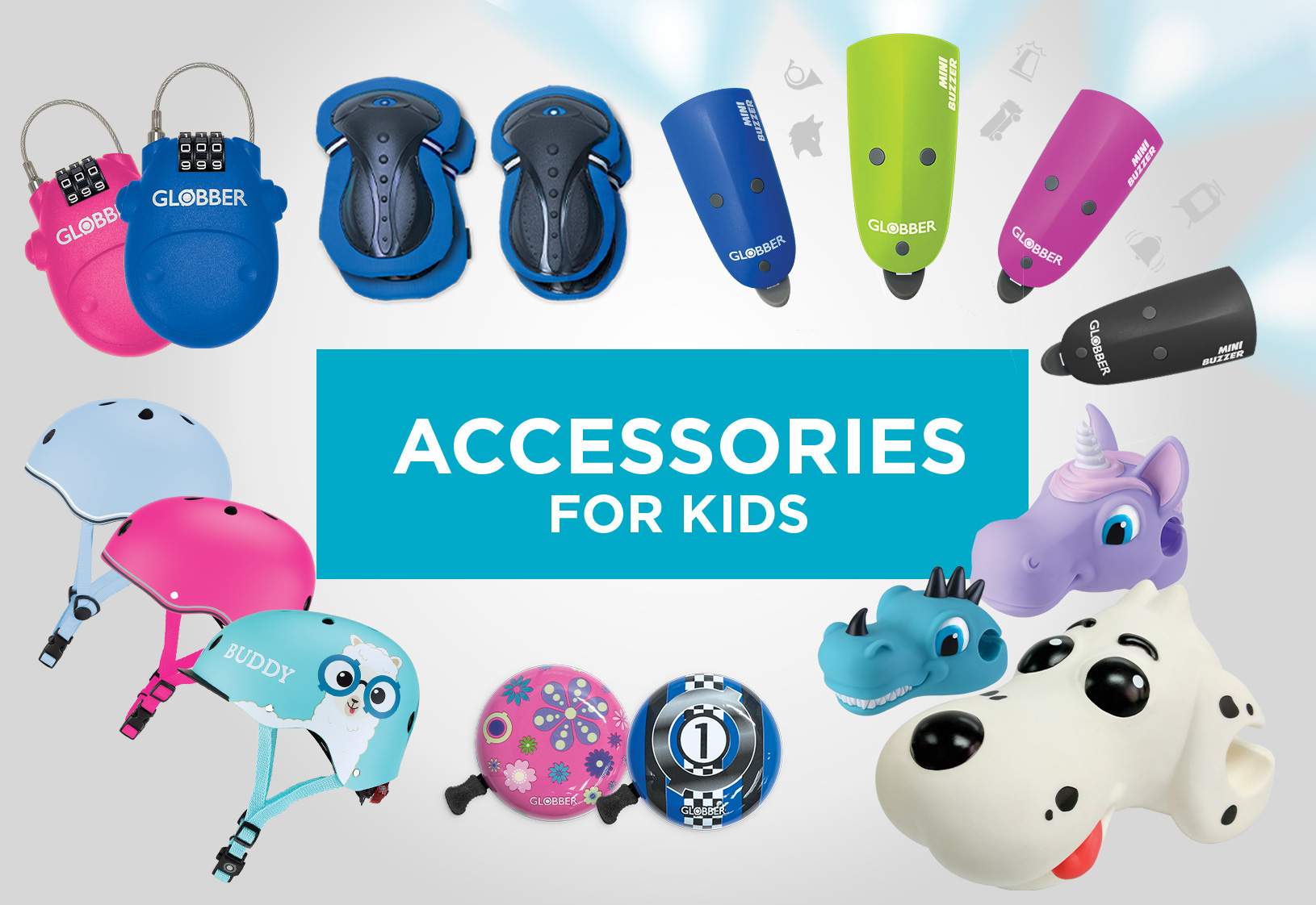 Accessories for kids, teens & adults
