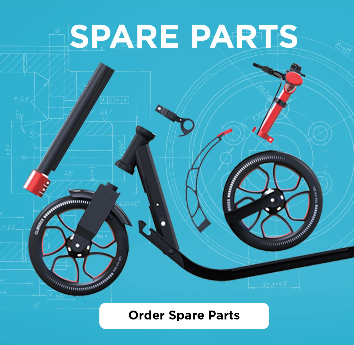 Globber Spare Parts
