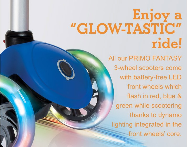 "Enjoy a ""GLOW-TASTIC"" ride!"