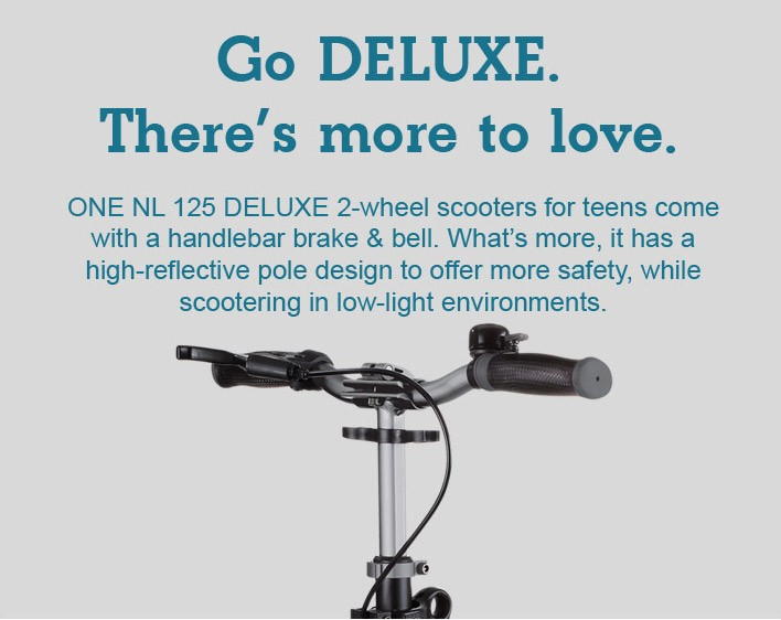 Go DELUXE. There's more to love.