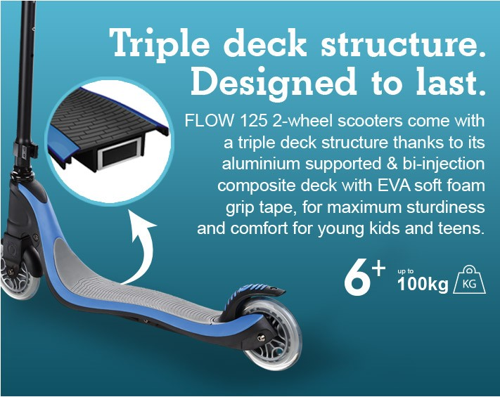 Triple Deck Structure. Designed To Last.
