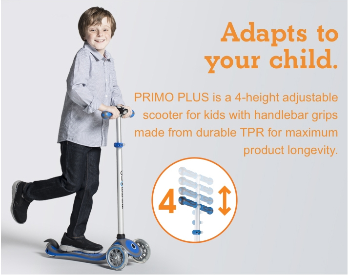 Adapts to your child.