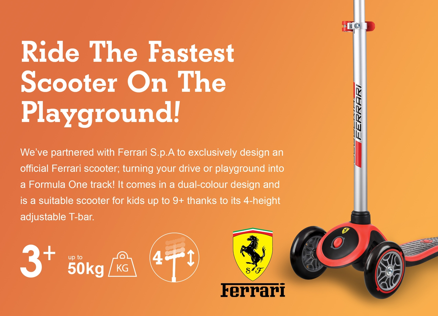 Ride The Fastest Scooter On The Playground!