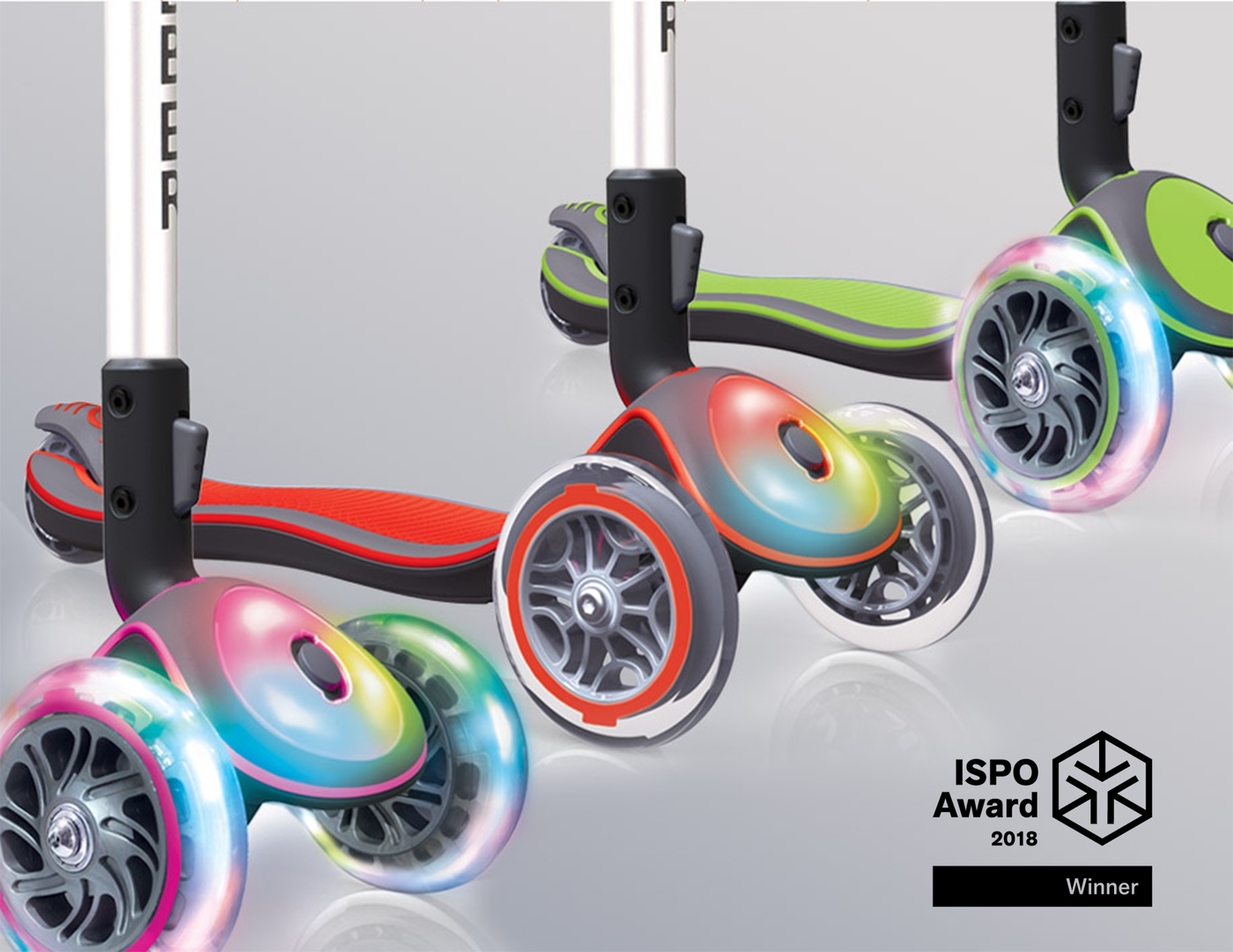 3 light-up scooter styles