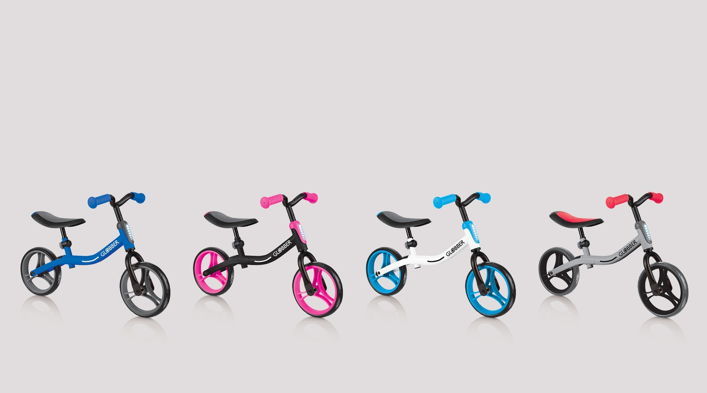 Balance bikes for boys. Balance bikes for girls.
