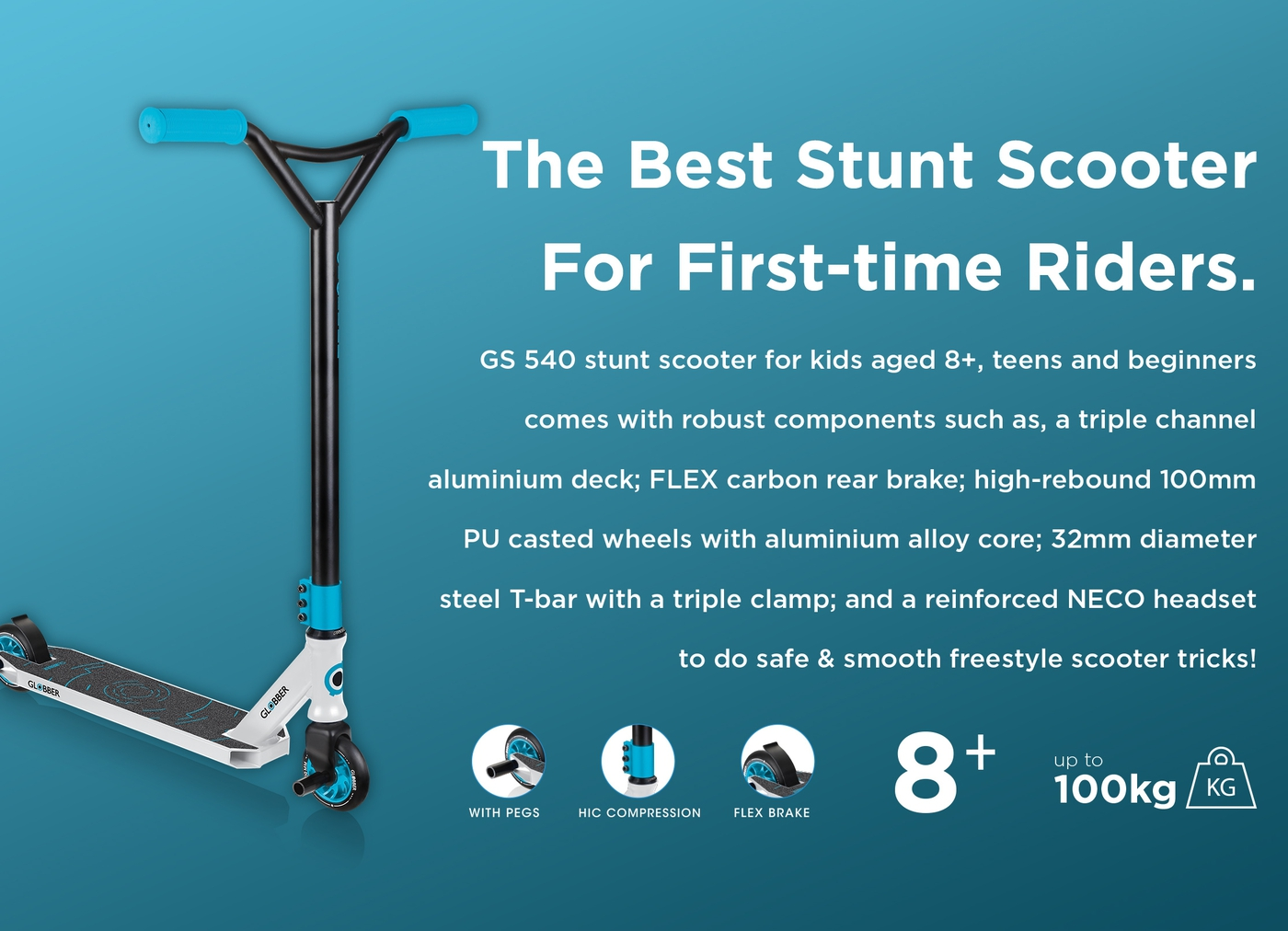 Best stunt scooters for first-time riders.
