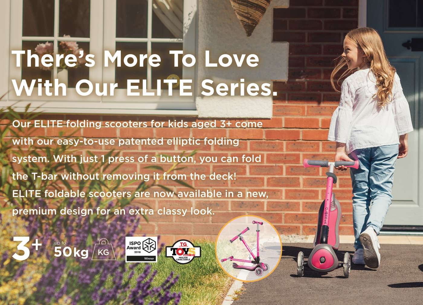 There's More To Love With Our ELITE Series.