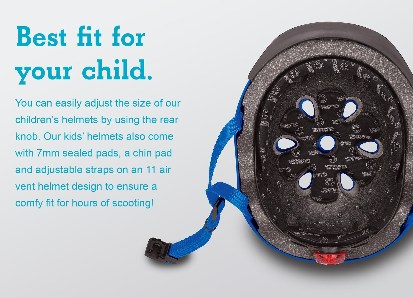 Best fit for your child.