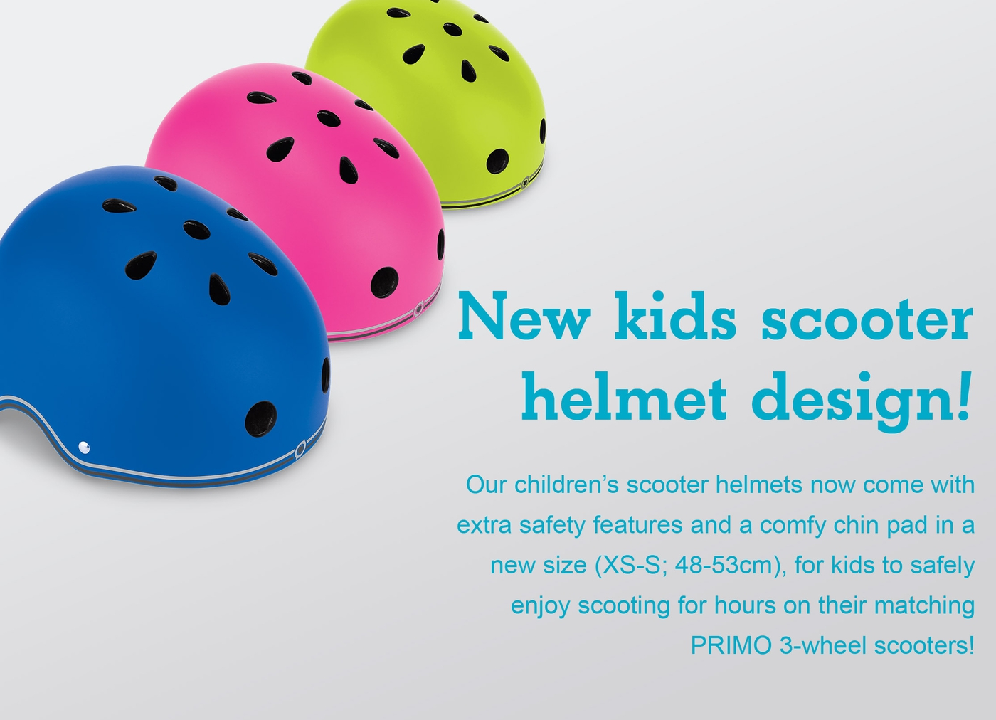 New kids scooter helmet design!