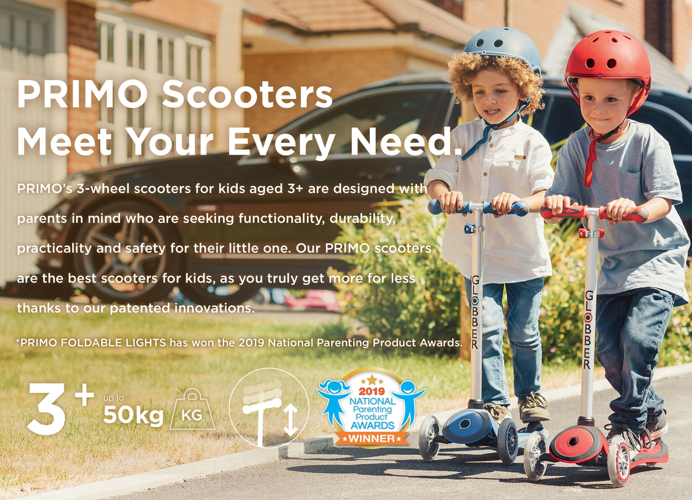 PRIMO Scooters Meet Your Every Need.