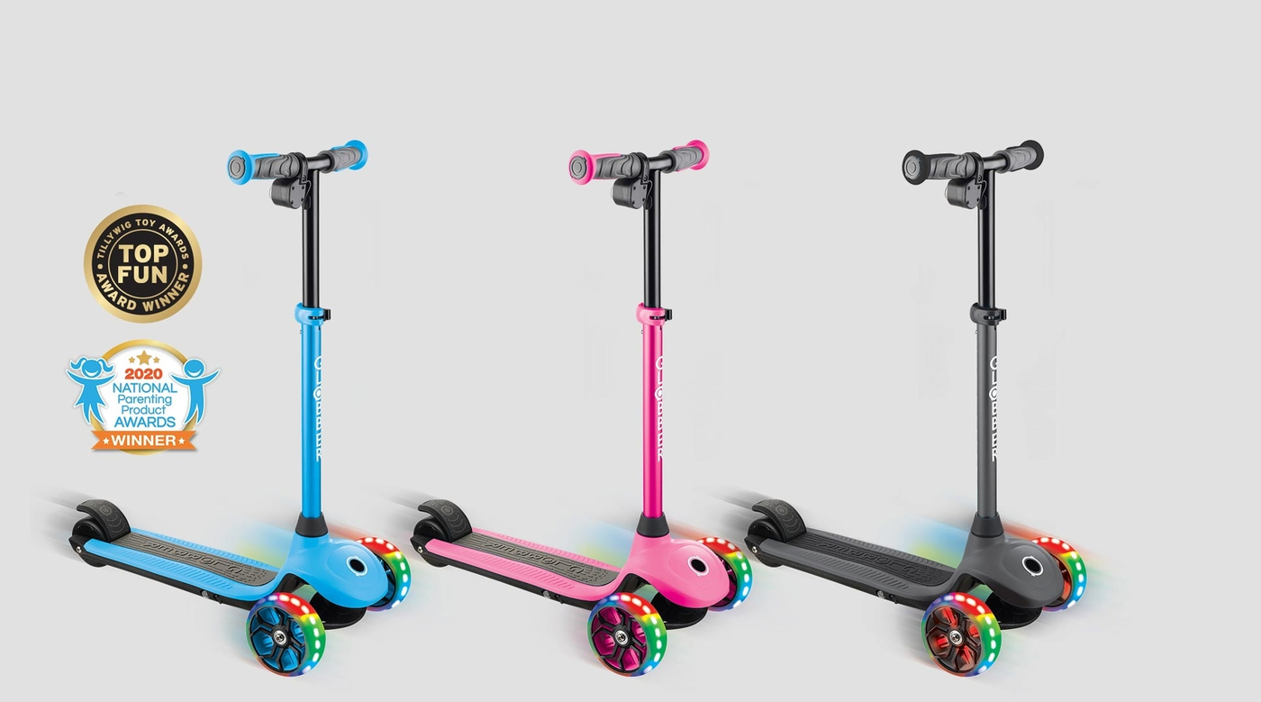 Globber-ONE-K-E-MOTION-4-award-winning-electric-scooter-for-kids
