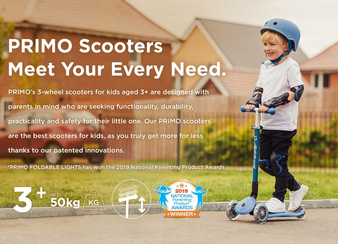 3 wheel scooters for 3 year olds