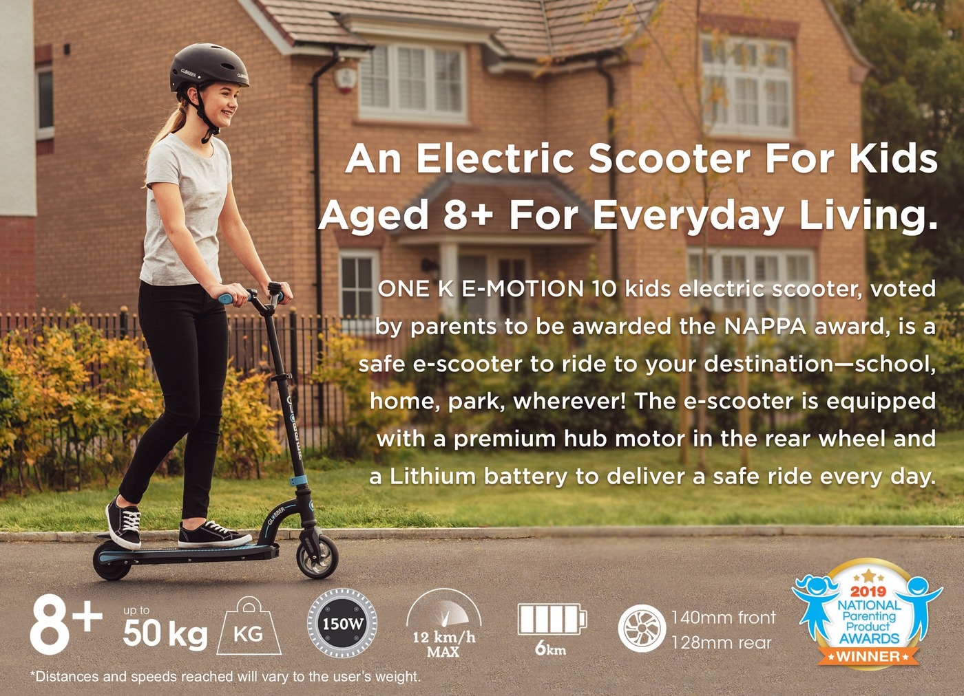 An Electric Scooter For Kids Aged 8+ For Everyday Living.