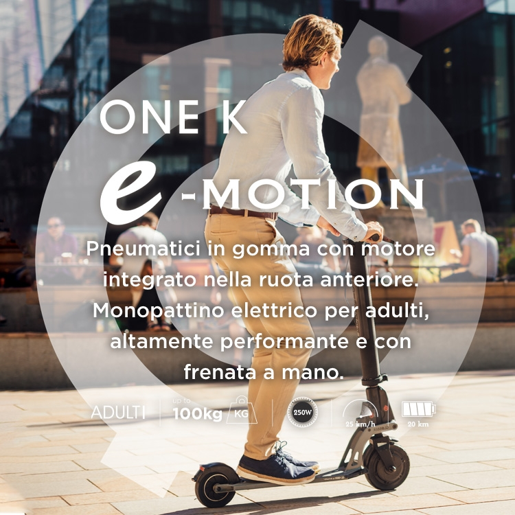 Scooters for all ages -- e-scooter for adults