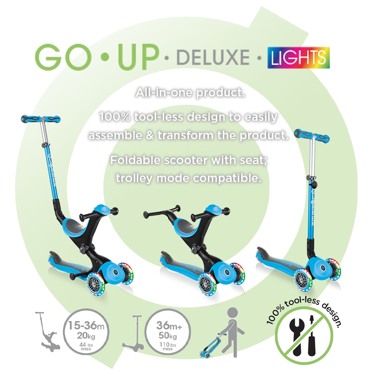 Globber-GO-UP-DELUXE-LIGHTS-foldable-scooter-with-seat-with-screwless-design-and-removable-footrest