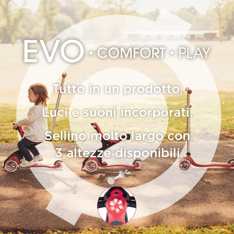 Scooters for all--EVO COMFORT PLAY