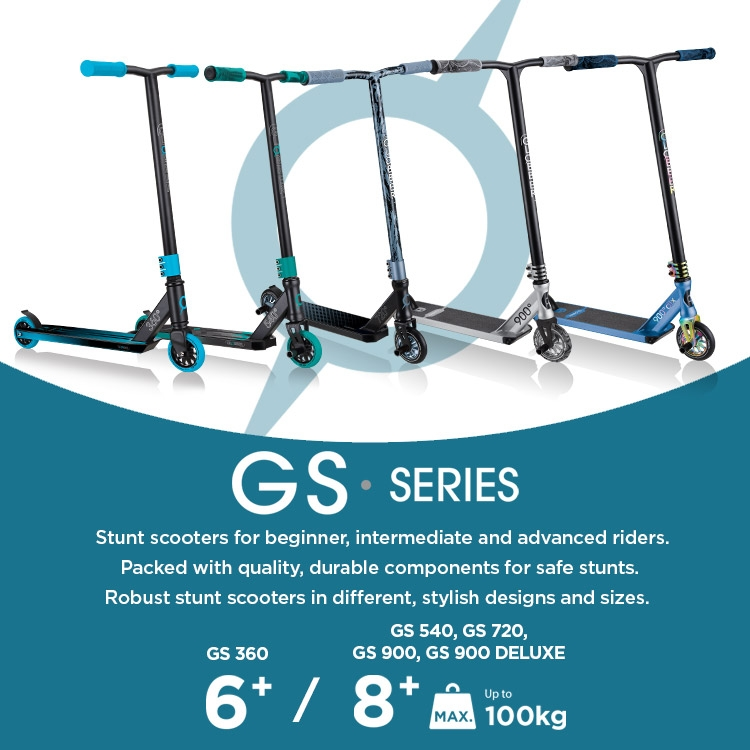 Globber-GS-stunt-scooters-for-beginner-intermediate-and-advanced-riders