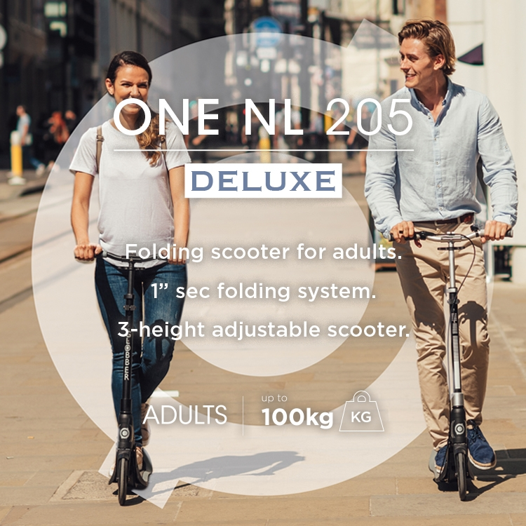 Scooters for all--ONE NL 205 DELUXE-Scooters for adults