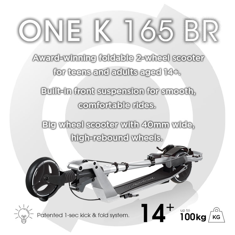 Globber-ONE-K-165-BR-award-winning-foldable-2-wheel-scooter-for-teens-and-adults-with-front-suspension_mobile
