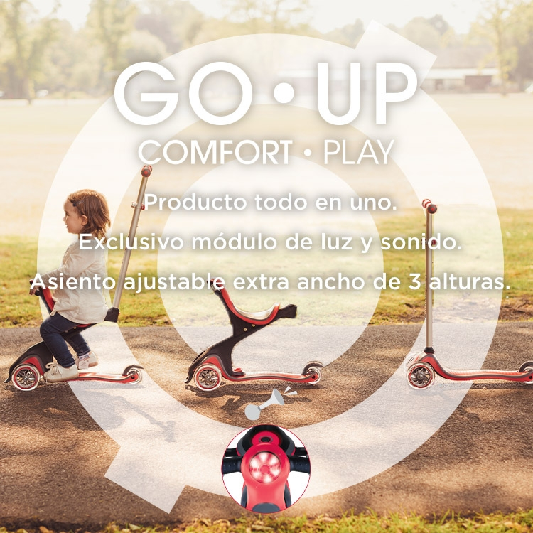 Scooters for all--GO•UP COMFORT PLAY