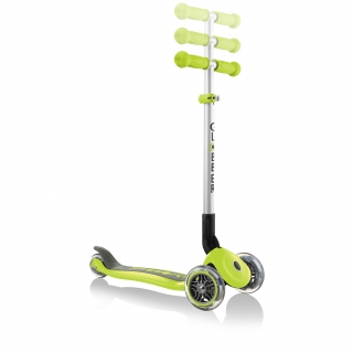 PRIMO-FOLDABLE-adjustable-scooter-for-kids-lime-green