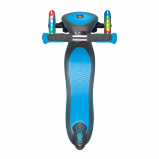 Globber-ELITE-DELUXE-LIGHTS-3-wheel-foldable-scooter-with-extra-wide-scooter-deck-sky-blue