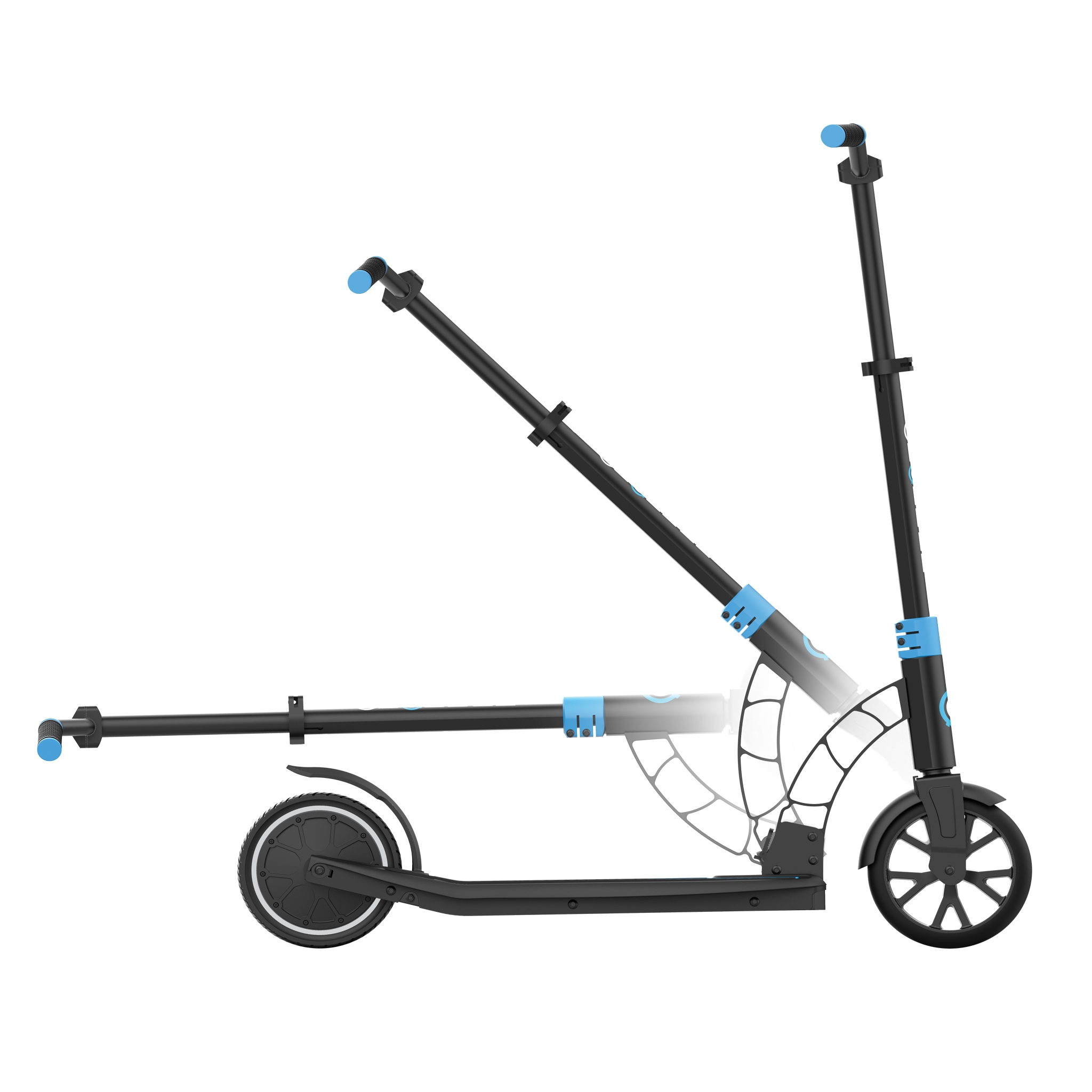 Globber-ONE-K-E-MOTION-15-electric-scooter-for-teens-and-young-adults-robust-foldable-e-scooter-sky-blue