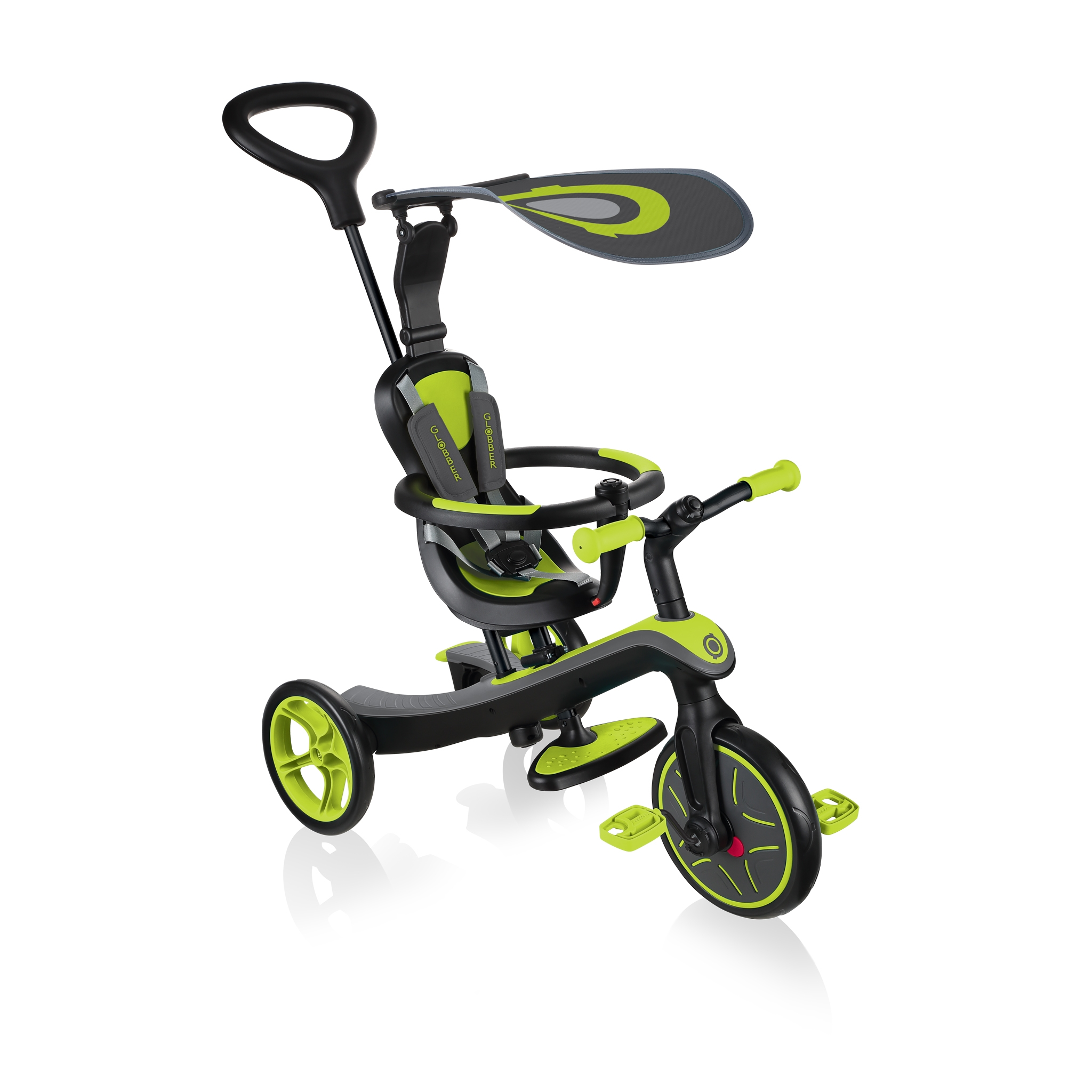 Globber-EXPLORER-TRIKE-4in1-all-in-one-baby-tricycle-and-kids-balance-bike-stage1-infant-trike_lime-green