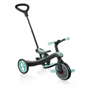 Globber-EXPLORER-TRIKE-4in1-all-in-one-baby-tricycle-and-kids-balance-bike-stage2-guided-trike_mint