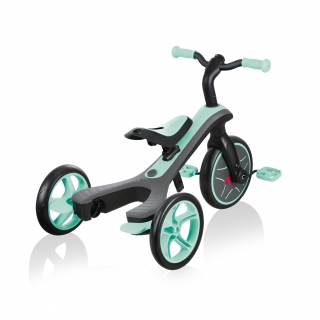 Globber-EXPLORER-TRIKE-4in1-all-in-one-baby-tricycle-and-kids-balance-bike-with-patented-wheel-mechanism-transformation_mint
