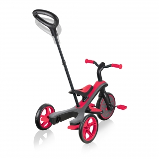 Globber-EXPLORER-TRIKE-4in1-all-in-one-baby-tricycle-and-kids-balance-bike-with-2-height-adjustable-parent-handle_new-red