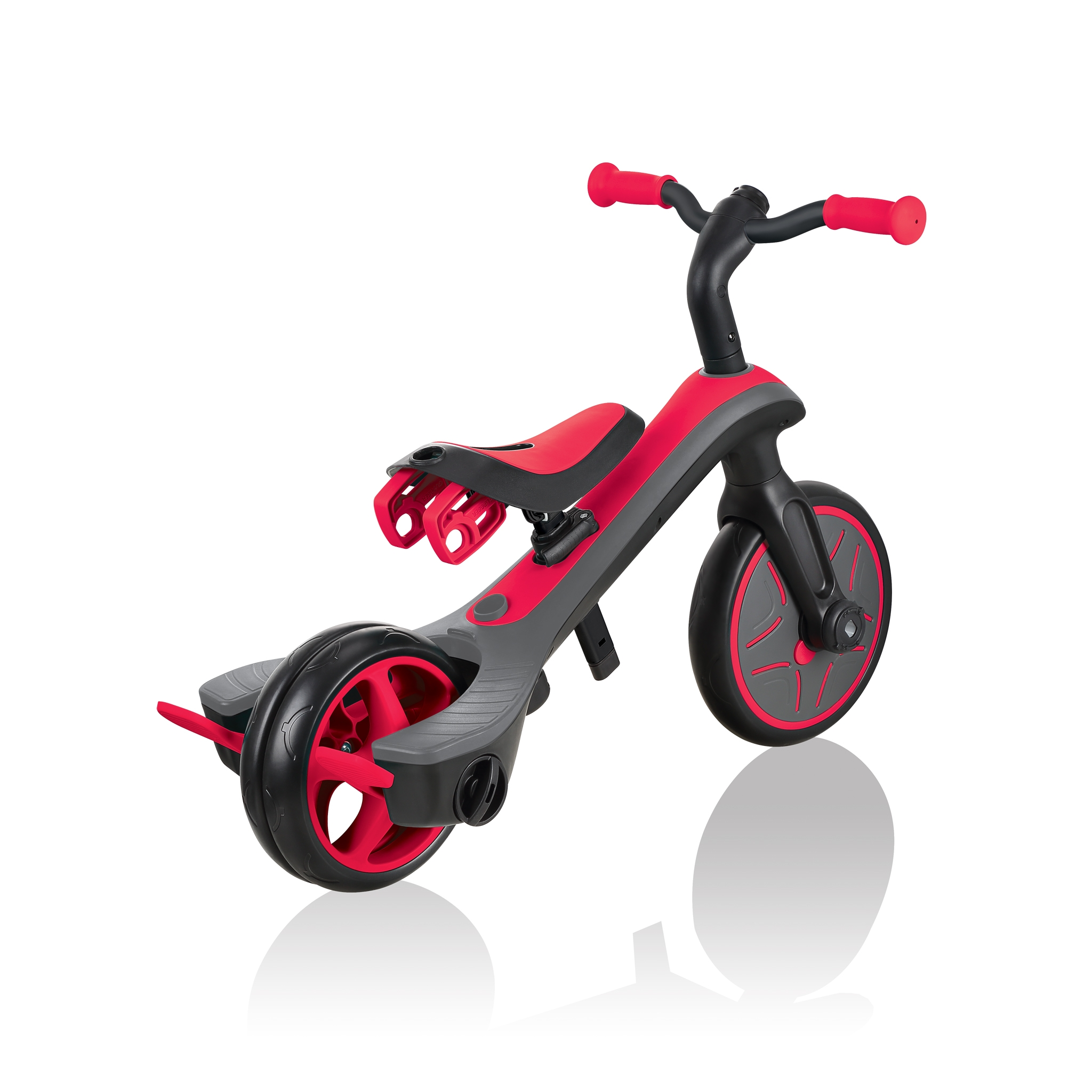 Globber-EXPLORER-TRIKE-4in1-all-in-one-baby-tricycle-and-kids-balance-bike-with-smart-pedal-storage_new-red
