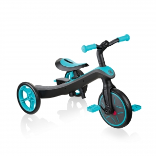 Globber-EXPLORER-TRIKE-4in1-all-in-one-baby-tricycle-and-kids-balance-bike-stage3-training-trike_teal