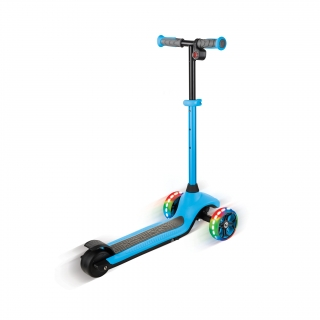 Globber-ONE-K-E-MOTION-4-award-winning-3-wheel-electric-scooter-for-boys-and-girls-with-dual-braking-system_sky-blue thumbnail 3