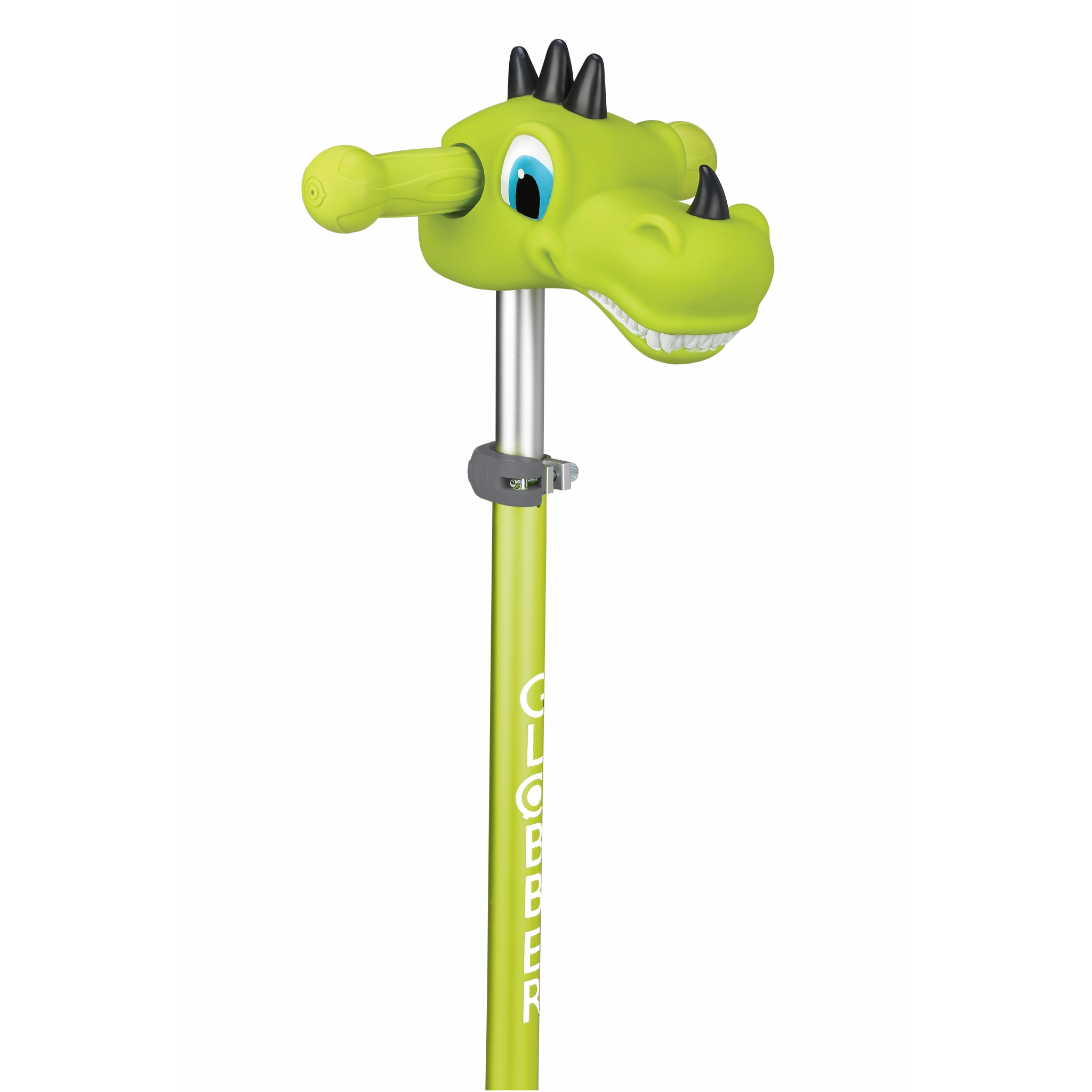 Globber-Scooter-Friends_accessories-for-scooter-T-bar-easy-to-fit_dino-green