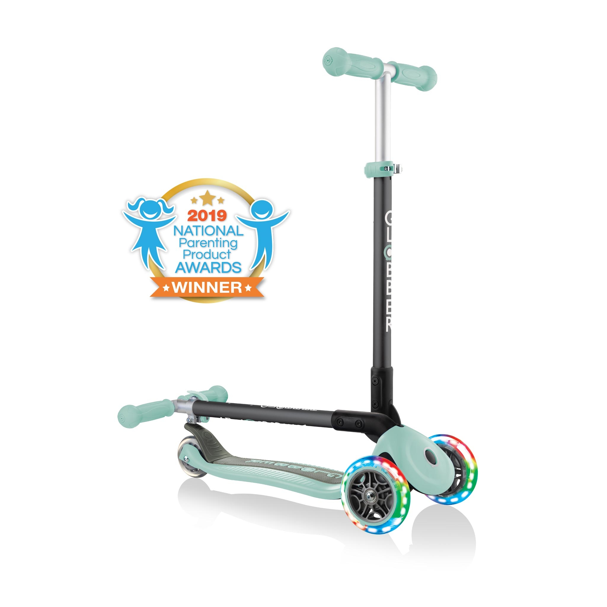 PRIMO-FOLDABLE-LIGHTS-3-wheel-fold-up-scooter-for-kids 0
