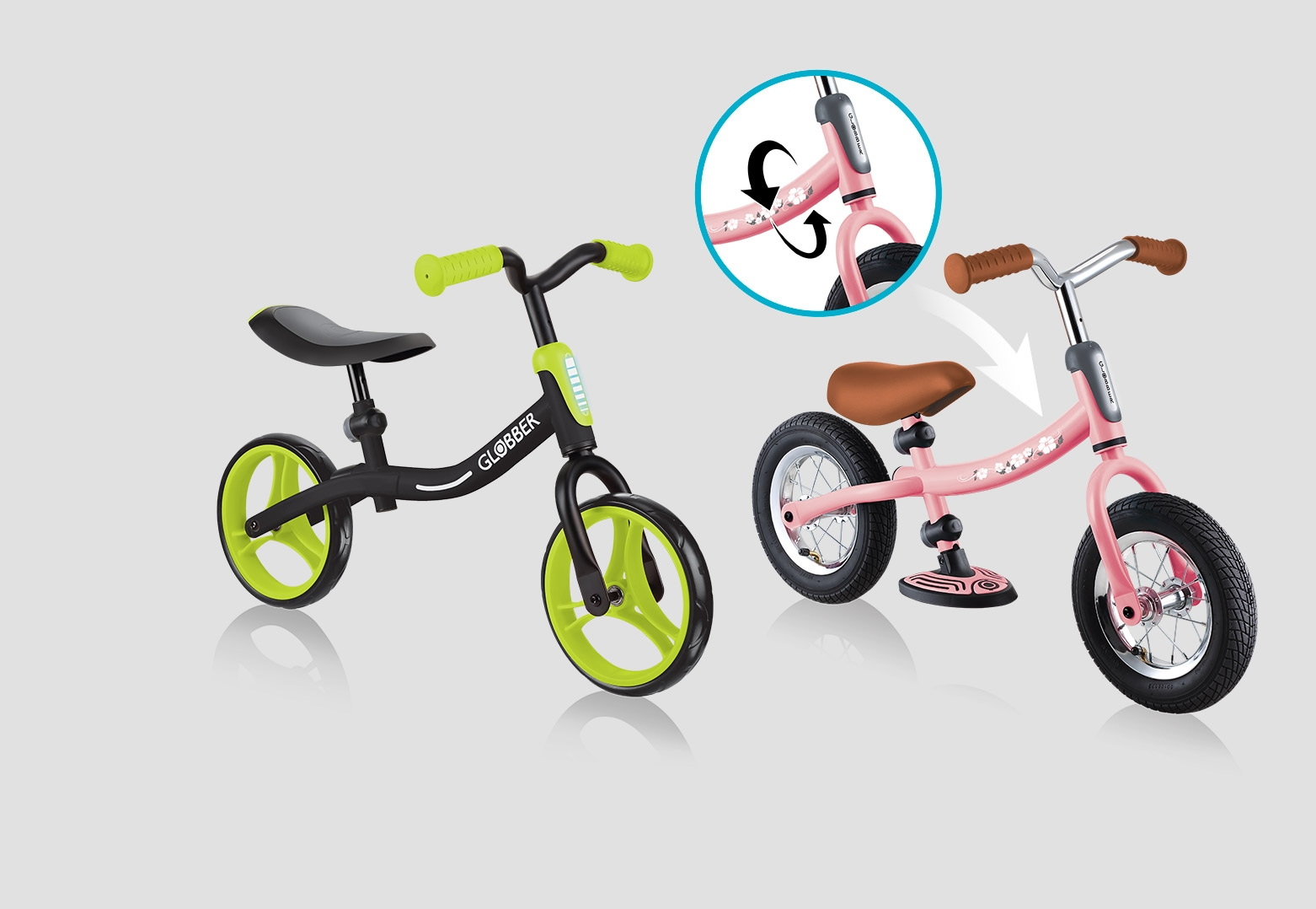 2 Toddler Balance Bikes Available.