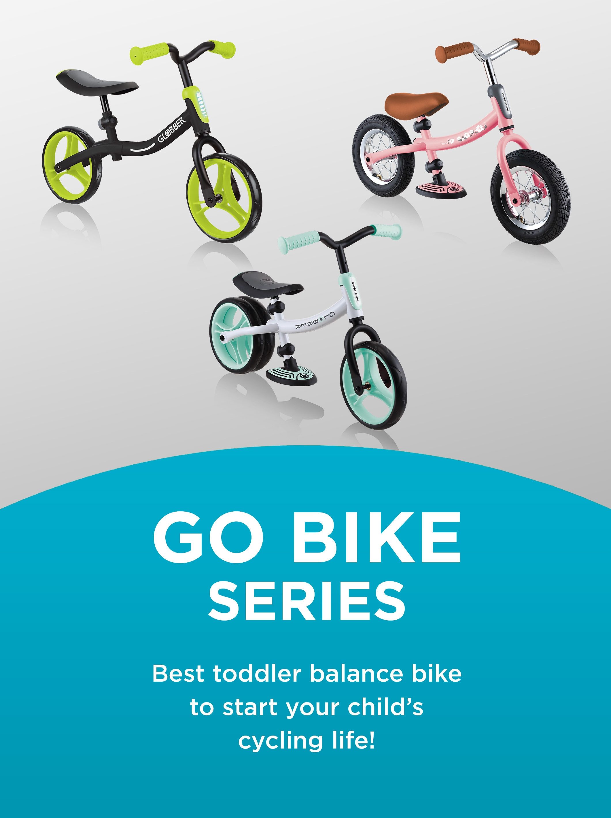 Globber GO BIKE best toddler balance bike